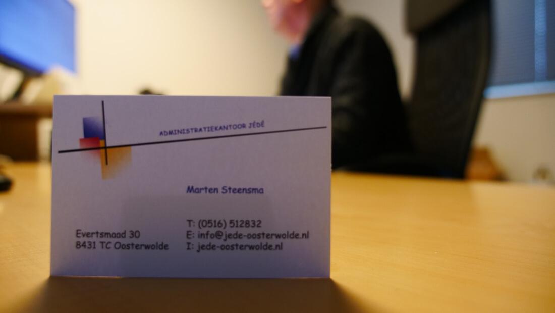 Administratiekantoor JeDe uit Oosterwolde - 02